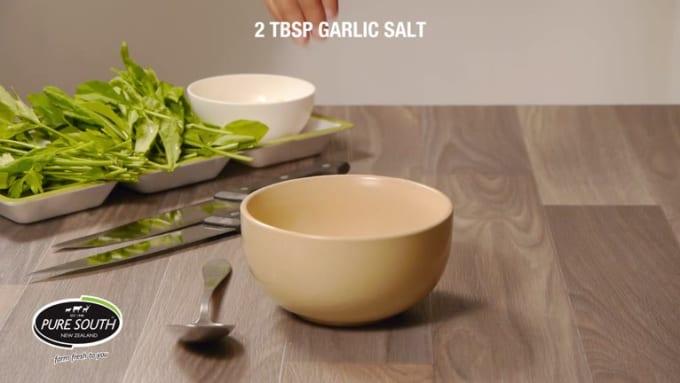 Garlic Wine Glazed Roast PURE SOUTH LAMB with Mint Pesto 2nd version
