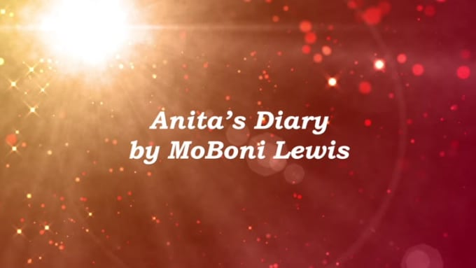 Anitas Diary Book Trailer