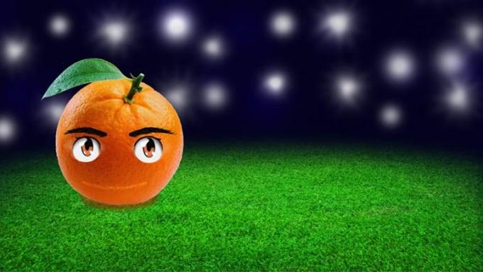 Orange full hd 4