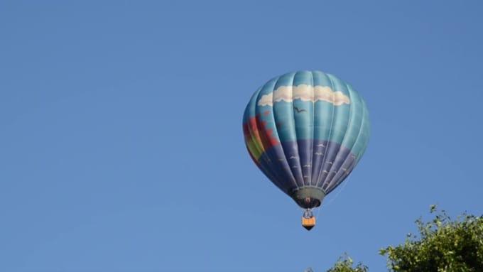 Hot air balloon Revision 5