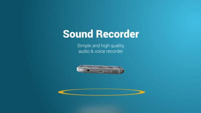 Sound Recorder Android Playful FULL HD Bonus