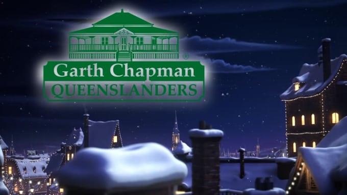 christmas Garth Chapman QUEENSLANDERS