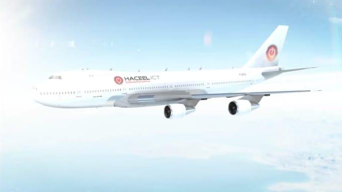 Aeroplane Animation 2
