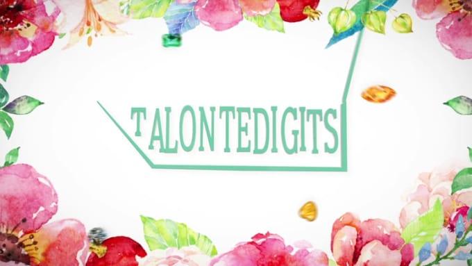 Talontedigits Intro v2