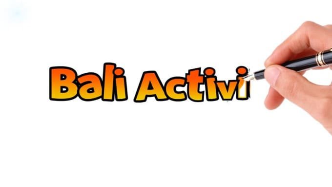 bali activity video intro