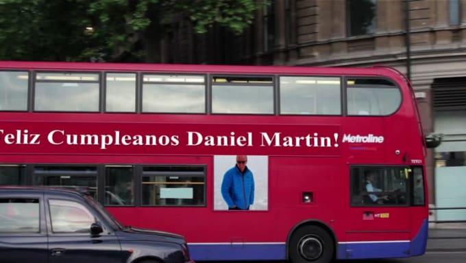 Feliz Cumpleanos Daniel Martin!