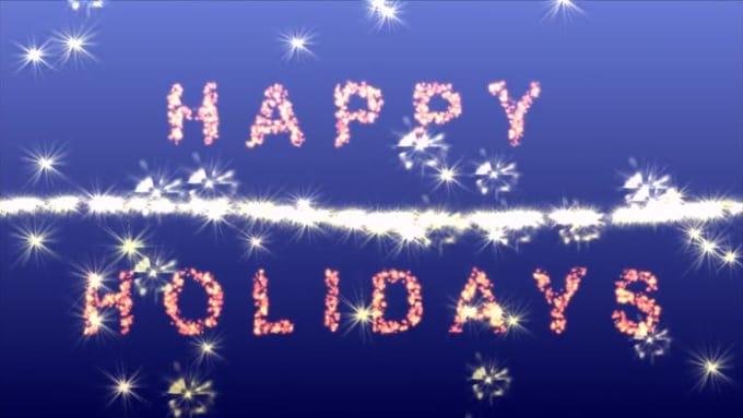 1 - Happy holidays for Monika
