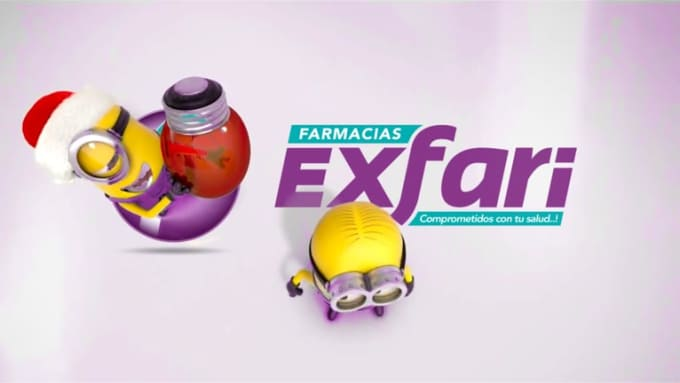 Farmaciasexfari Minions Wishing Video in 1080p Full HD High Quality