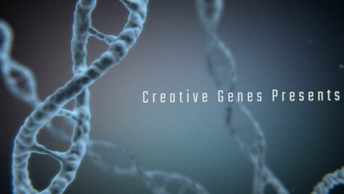create very special dna logo intro outro