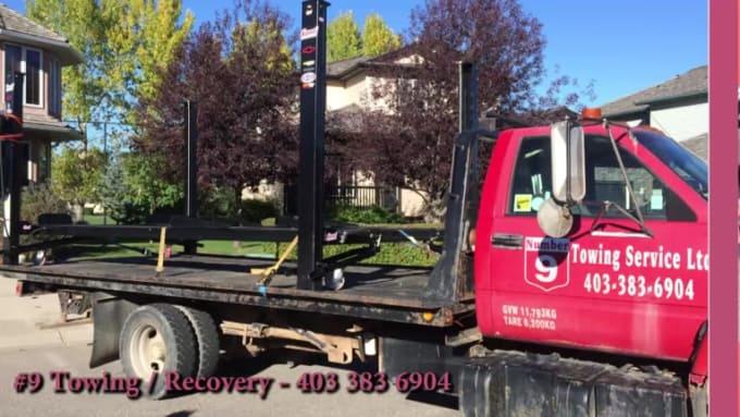 Towing Services Video Slideshow PORTFOLIO