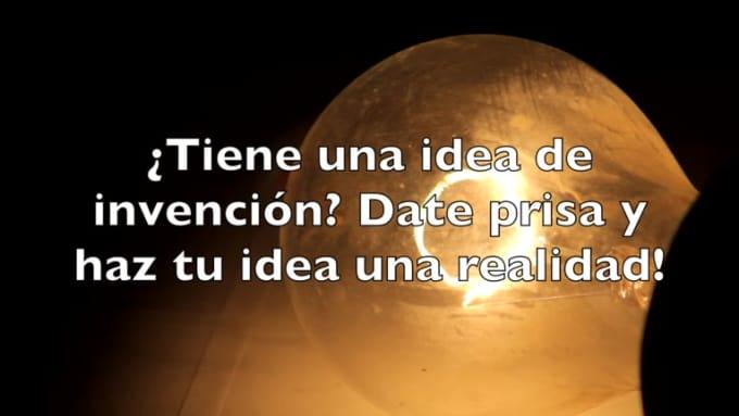Invention Book Trailer SPANISH 2