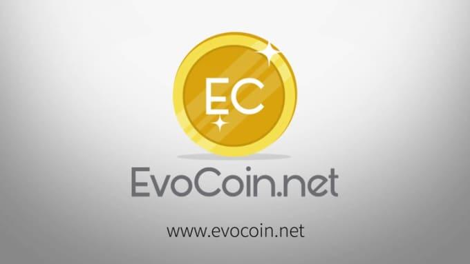 evocoin simple logo FULL HD Express