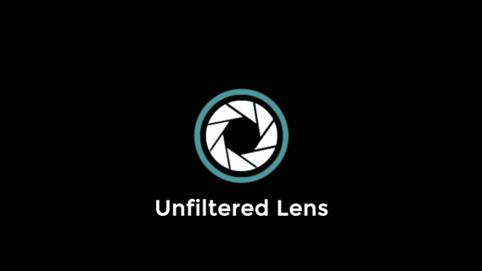 Unfilteres lens