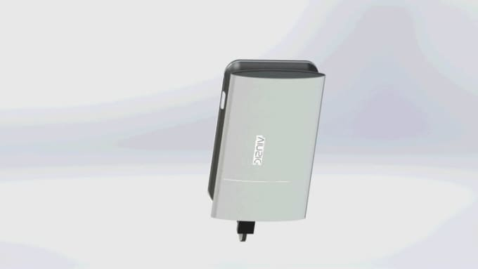 E Reader with Battery Bank   rendered