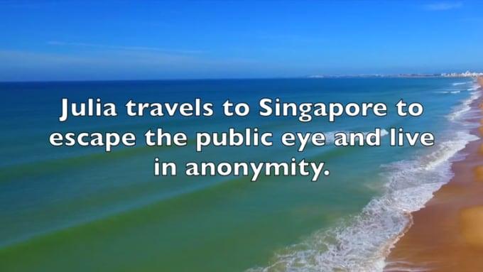 Singapore Secrets Book Trailer 2