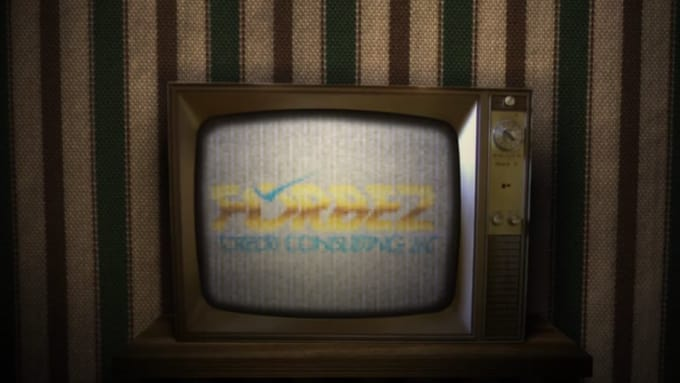 Old Broken Tv Animation-01