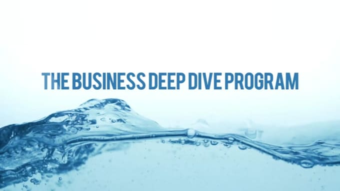The Business Deep Dive Program