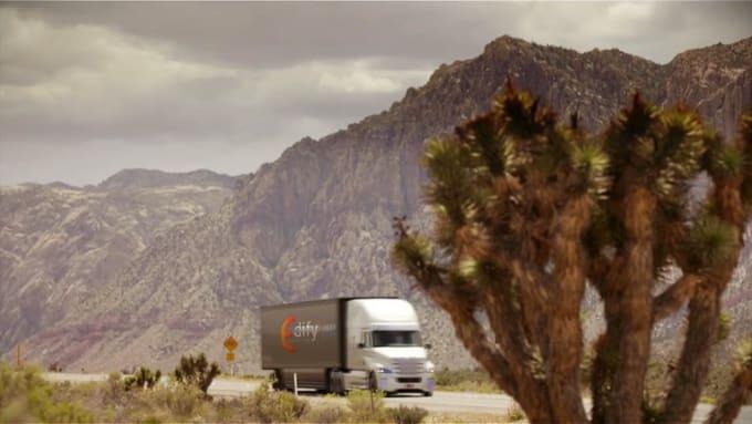 truck logo EdifyLab 1080p