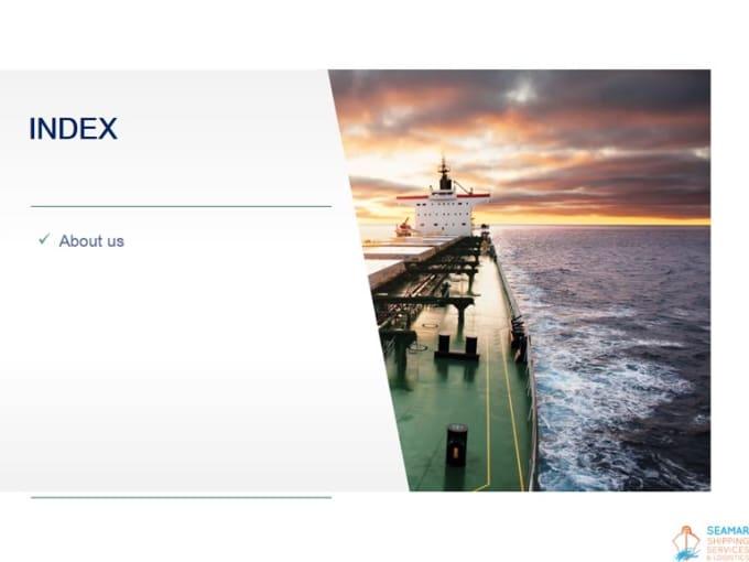 SEAMAR SHIPPING SERVICES & LOGISTICS COMPANY PROFILEV2