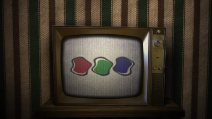 Old Broken Tv Logo Animation-01