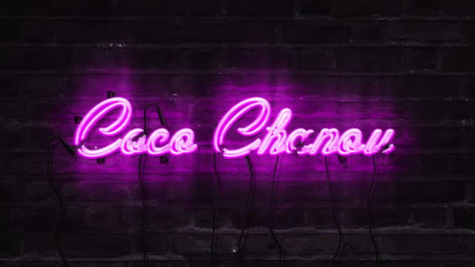 Neon Logo Coco With Music by @AVSGraphic