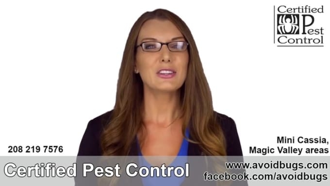 Certified Pest Control Live Spokesperson