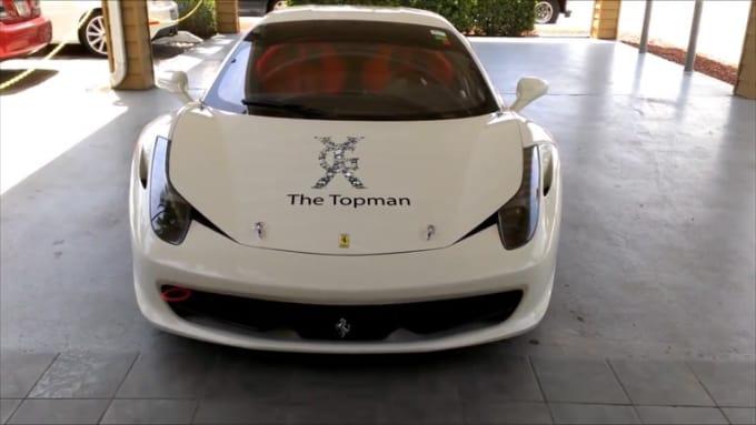 hermann123 white ferrari done