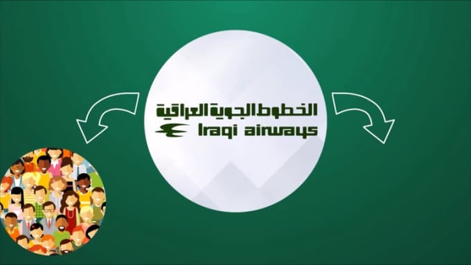 Iraqi airlaines video