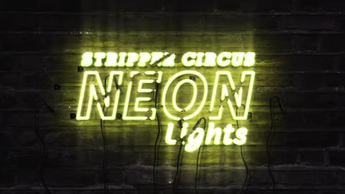 Neon Logo by @AVSGraphic