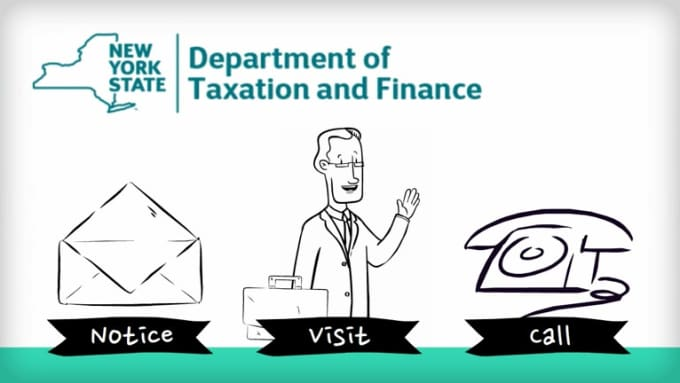 Top 4 NY State Department of Taxation Collection Actions