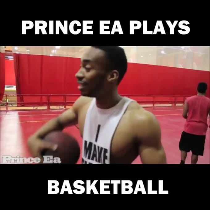 Prince Ea Plays Basketball