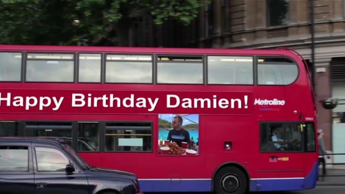 Happy Birthday Damien!