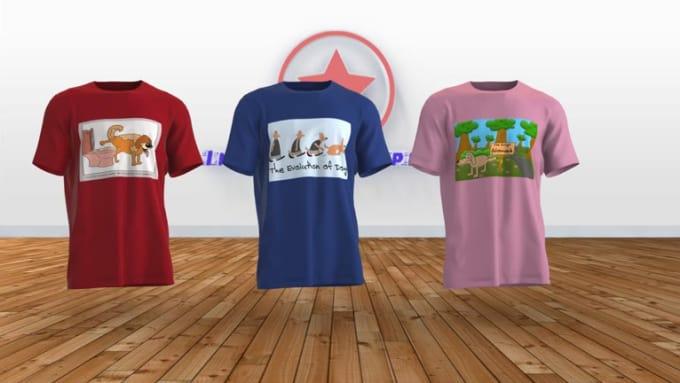 eriklehane t-shirts