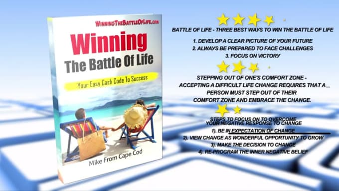 Winning the battle of life Book Promo