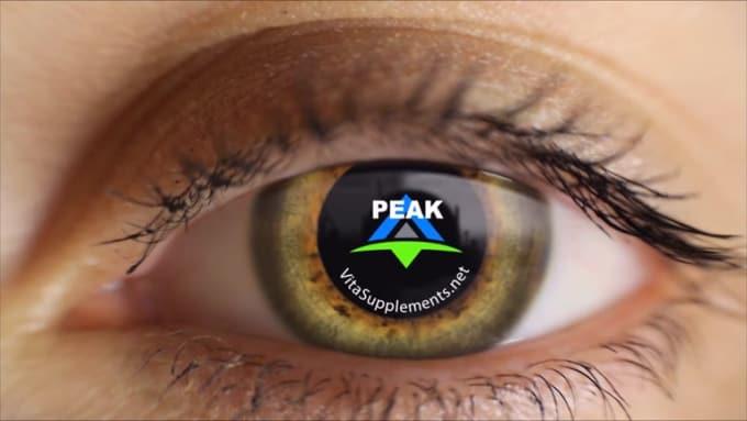 Peak eye modified video