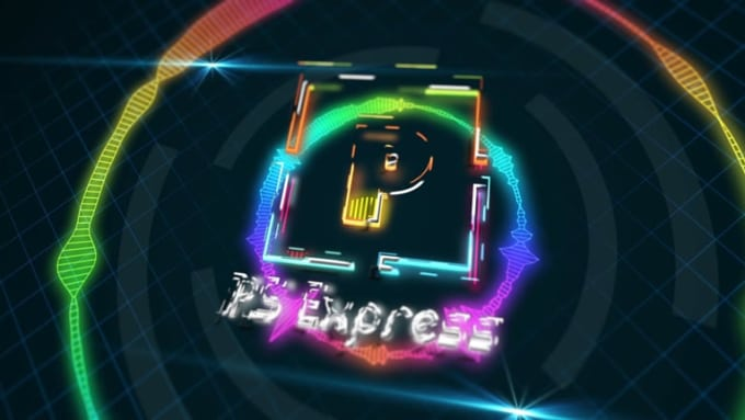 Final PS Express logo animation