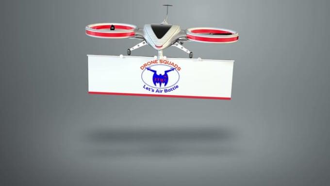 Drone Logo Reveal 2