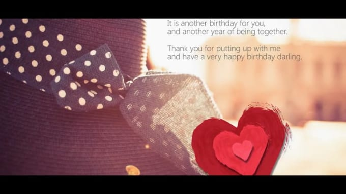 Best birthday wishes for your wife - YouTube_1