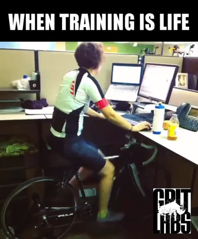When Training is Life