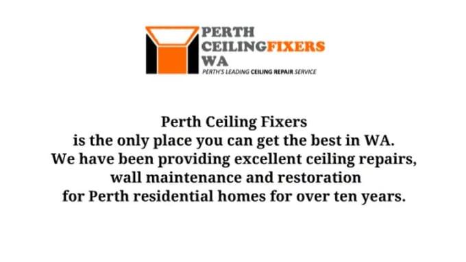 Perth Ceiling Fixers