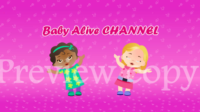Baby alive channel two dolls animation 1