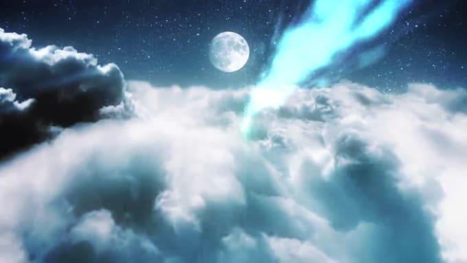 matropolis  clouds in a night sky done