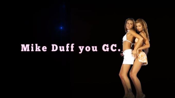 two girls dance Mike Duff 720p