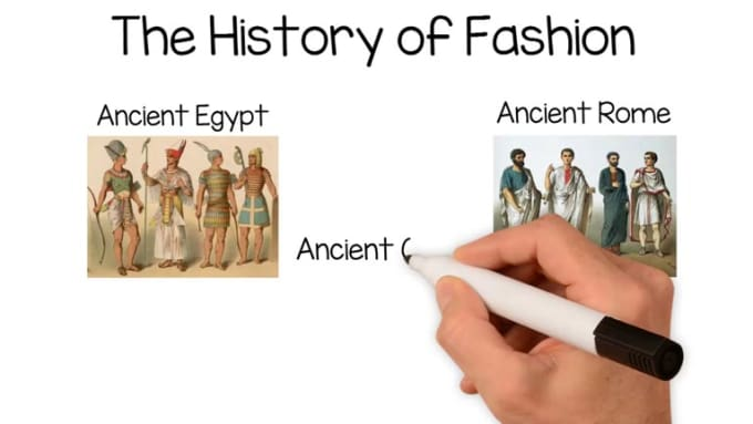 History of fashion revision