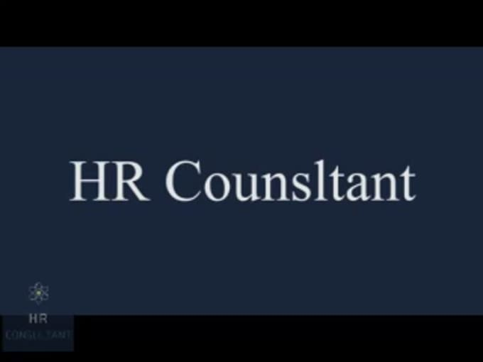 HR Consultant Final MP4 Video