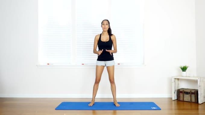 Yoga for Models Cat Cow
