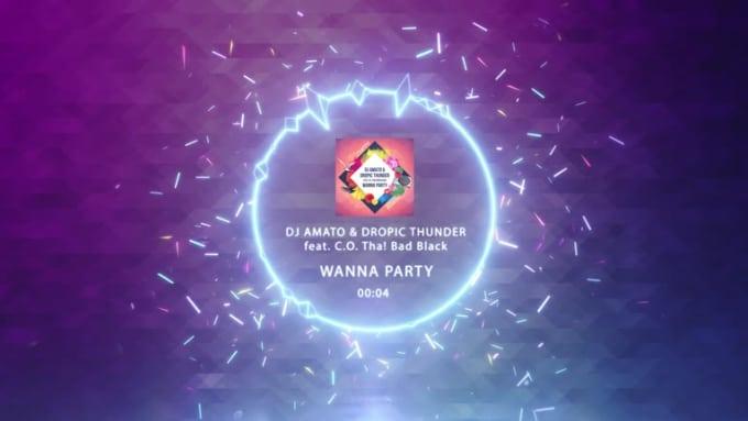 DJ Amato Dropic Thunder feat CO Tha Bad Black  Wanna Party