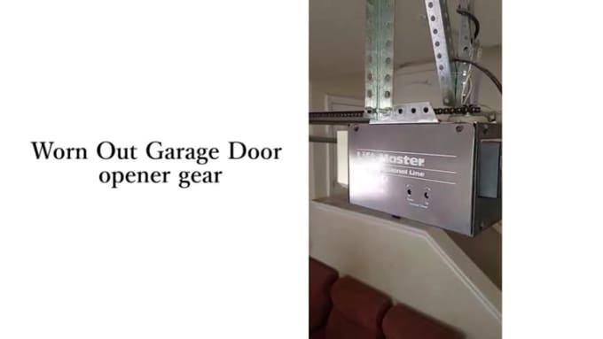 Garage Door Makes a Sound, But Won't Open