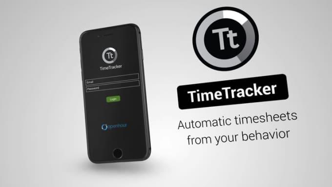 TimeTracker iPhone Stylish FULL HD