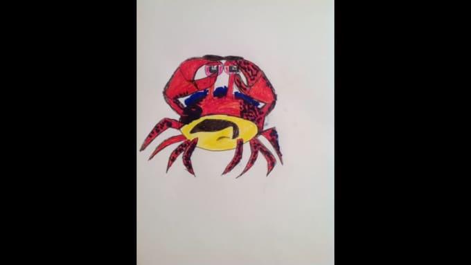 crab toon